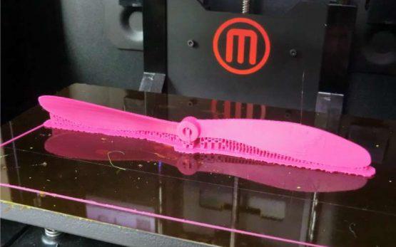 3d printing propeller blade