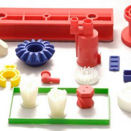 3D printed parts prototypes