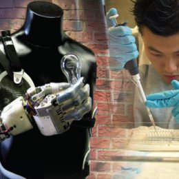 robot hand chemical research