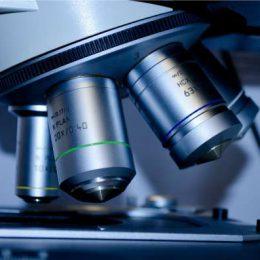 research development microscope