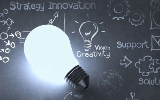 research development light bulb idea creative