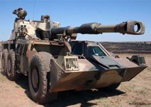 Military Armoured Vehicle g6 gun