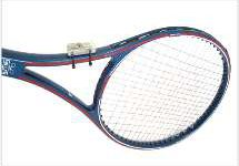 tennis racquet with sensor