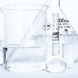 chemical testing glass containers