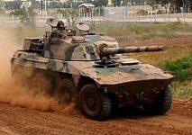 Military Armoured Vehicle rooikat