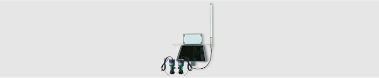 wireless solar powered automated valve controller
