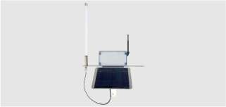 wireless solar powered weather station controller
