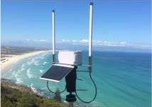 wildlife solar powered wireless gateway